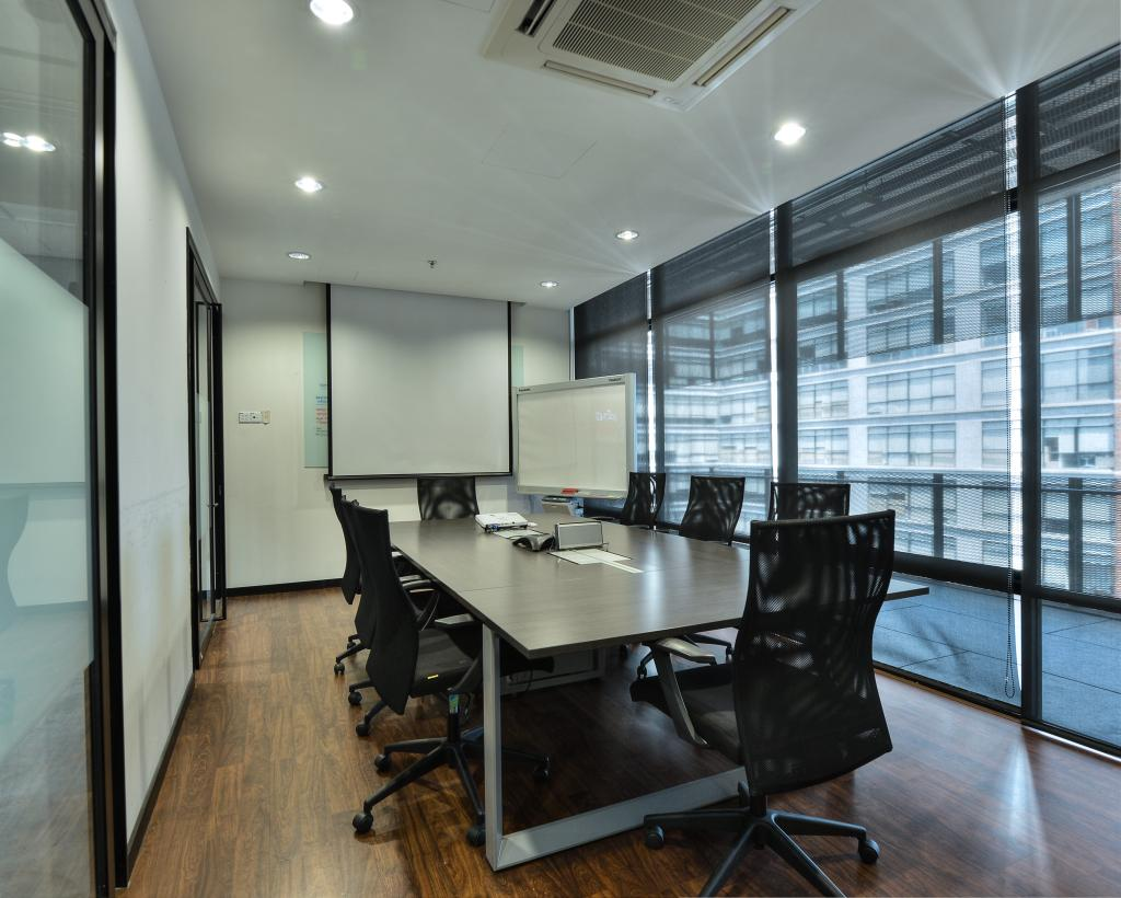 PJ Trade Centre, Damansara Utama, Commercial, Interior Designer, SQFT Space Design Management, Industrial, Minimalistic, Contemporary, Chair, Furniture, Conference Room, Indoors, Meeting Room, Room