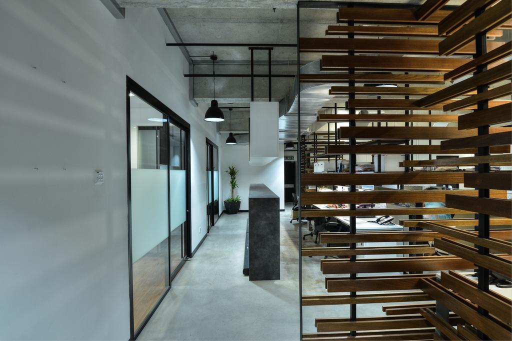 PJ Trade Centre, Damansara Utama, Commercial, Interior Designer, SQFT Space Design Management, Industrial, Minimalistic, Contemporary, Corridor