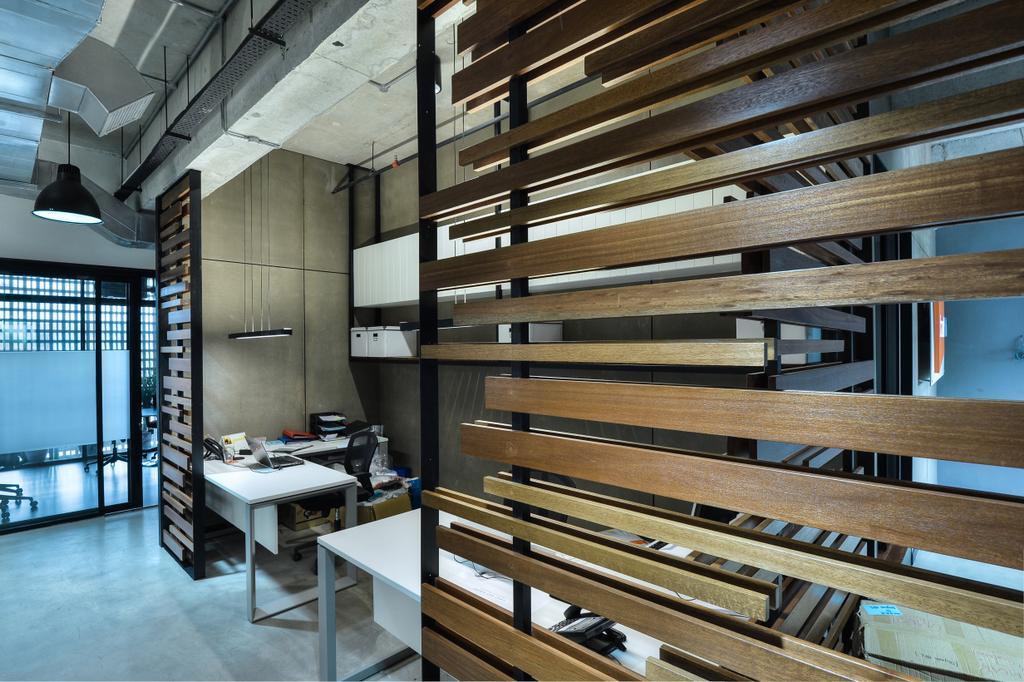 PJ Trade Centre, Damansara Utama, Commercial, Interior Designer, SQFT Space Design Management, Industrial, Minimalistic, Contemporary, Dining Table, Furniture, Table
