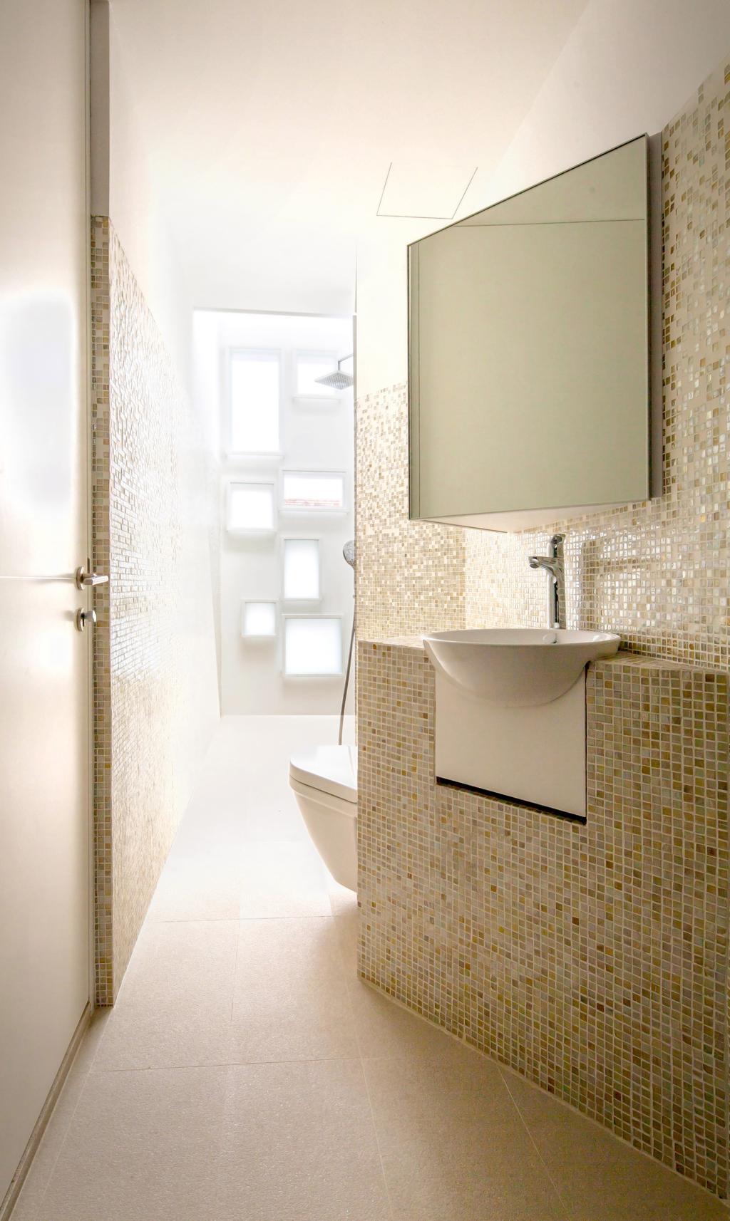 Contemporary, Landed, Bathroom, Belimbing Avenue, Architect, HYLA Architects, Wall, Indoors, Interior Design