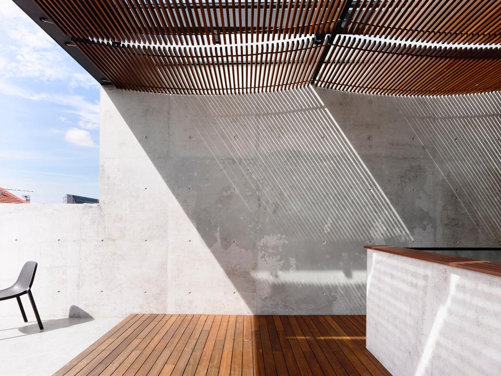 Contemporary, Landed, Belimbing Avenue, Architect, HYLA Architects, Bar Stool, Furniture