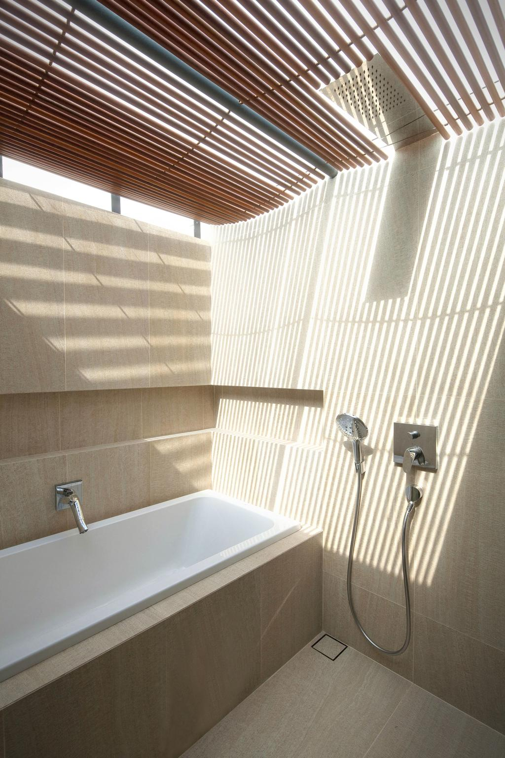 Contemporary, Landed, Bathroom, Belimbing Avenue, Architect, HYLA Architects, Indoors, Interior Design, Room