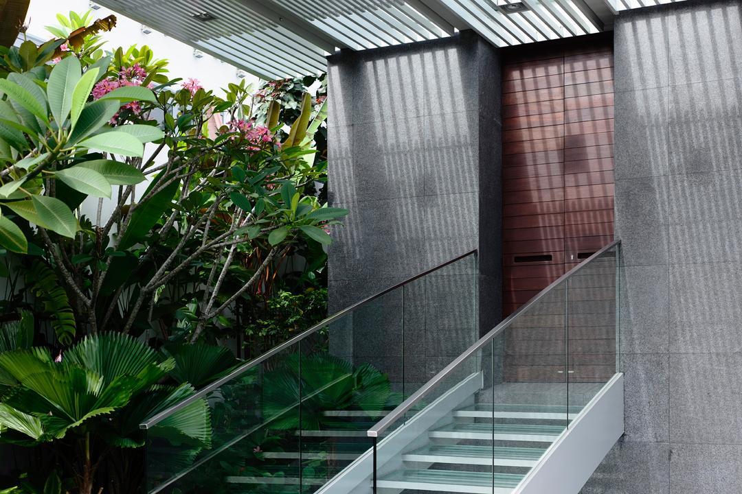 Jalan Angin Laut, HYLA Architects, Modern, Landed, Arecaceae, Flora, Palm Tree, Plant, Tree, Garden, Gardening, Outdoors