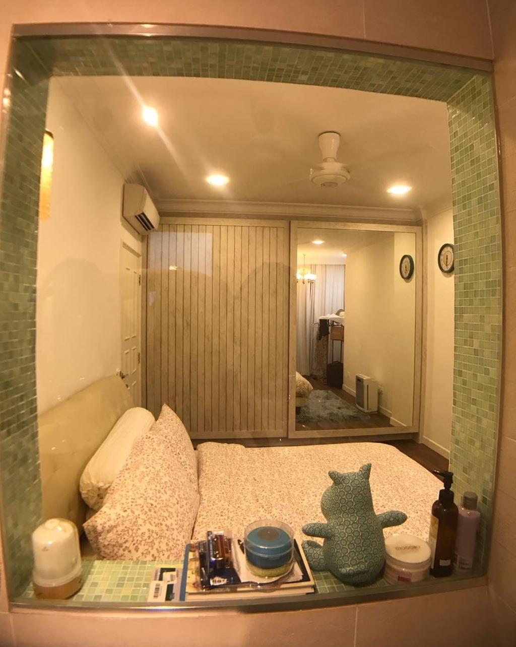 Vintage, Condo, Bedroom, Serenity Park, Interior Designer, ISH Interior Design, Indoors, Interior Design, Room