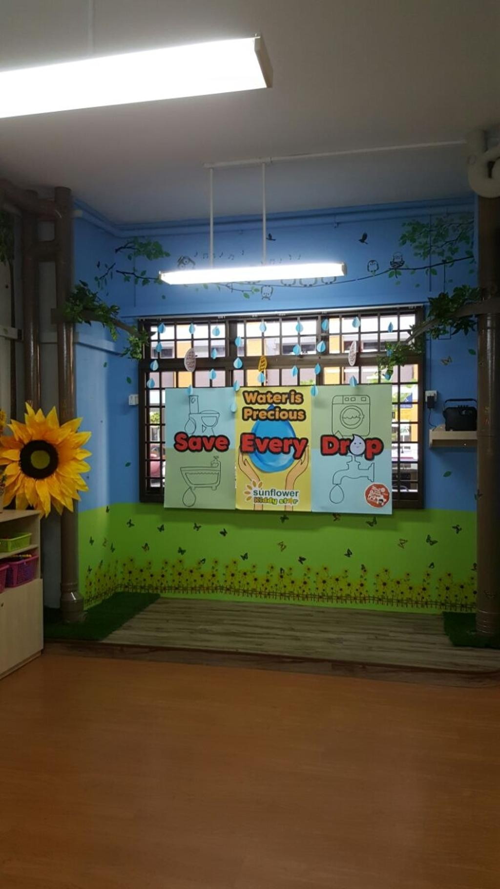 Sunflower Kindergarten, Commercial, Interior Designer, Interior Diary, Minimalistic, Flora, Jar, Plant, Potted Plant, Pottery, Vase, Blossom, Flower, Sunflower