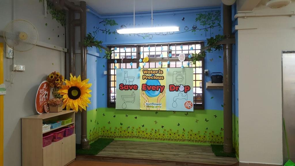 Sunflower Kindergarten, Commercial, Interior Designer, Interior Diary, Minimalistic, Flora, Jar, Plant, Potted Plant, Pottery, Vase