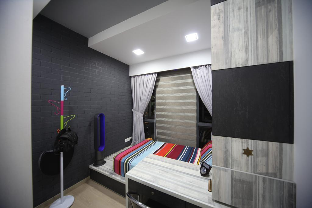 Modern, Condo, Bedroom, Riversound Residences, Interior Designer, Interior Diary