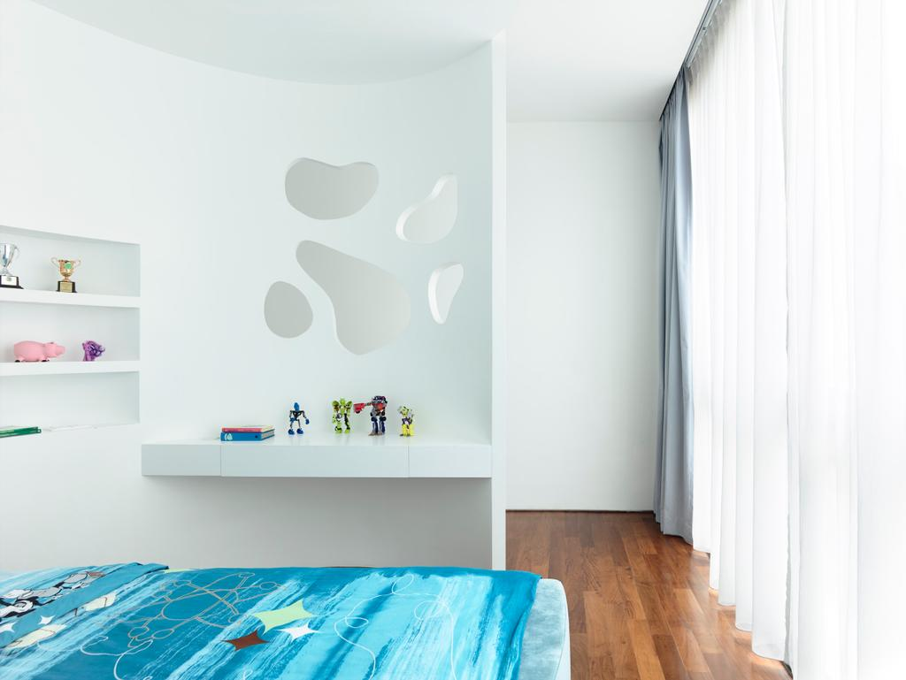 Contemporary, Landed, Bedroom, Princess of Wales, Architect, HYLA Architects, Indoors, Interior Design, Room