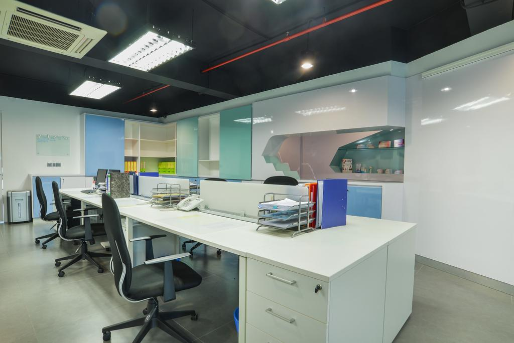 Oasis Damansara, Commercial, Interior Designer, SQFT Space Design Management, Modern, Minimalistic, Contemporary, Dining Table, Furniture, Table, Chair