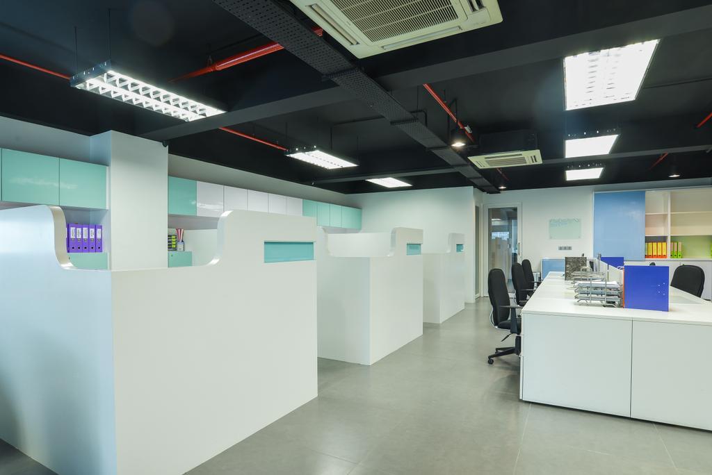 Oasis Damansara, Commercial, Interior Designer, SQFT Space Design Management, Modern, Minimalistic, Contemporary, Conference Room, Indoors, Meeting Room, Room
