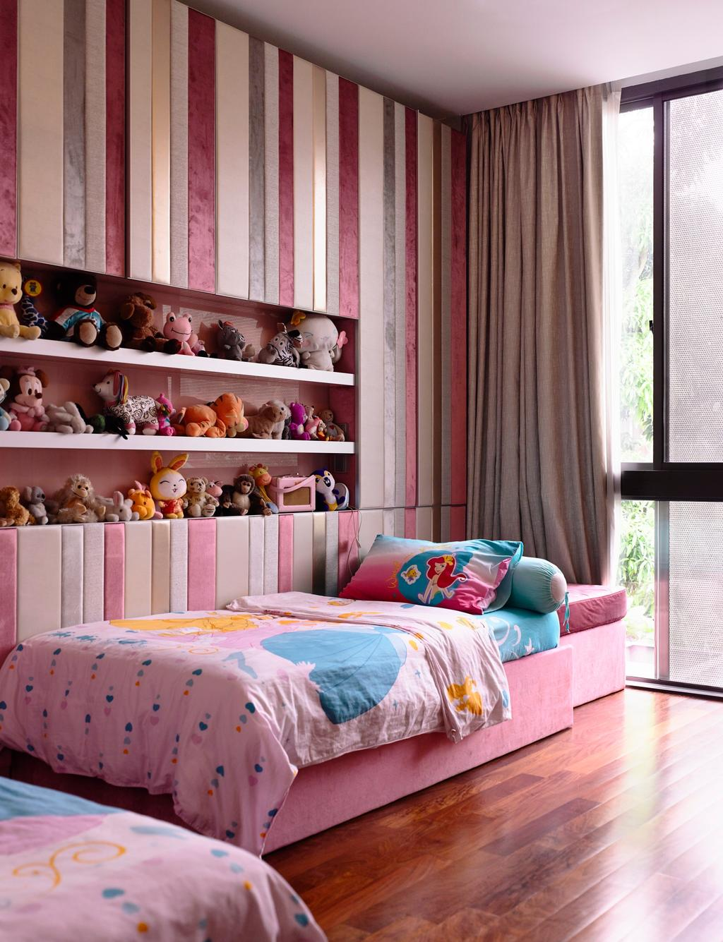Contemporary, Landed, Bedroom, Princess of Wales, Architect, HYLA Architects, Window, Toy