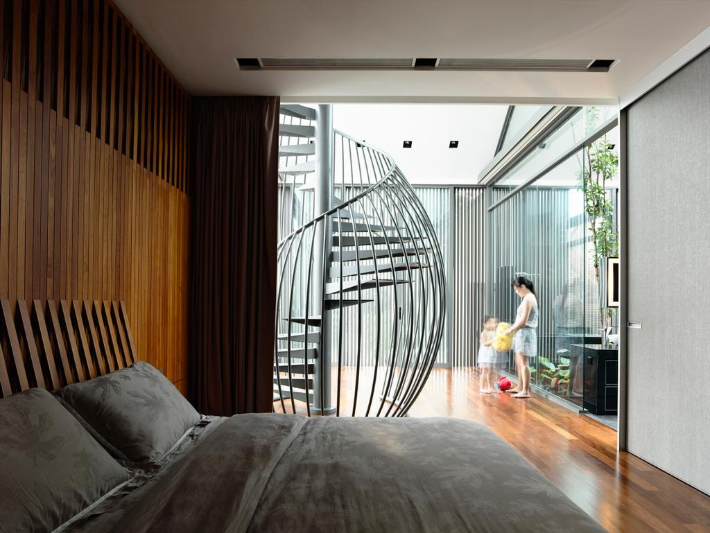 Contemporary, Landed, Bedroom, Princess of Wales, Architect, HYLA Architects