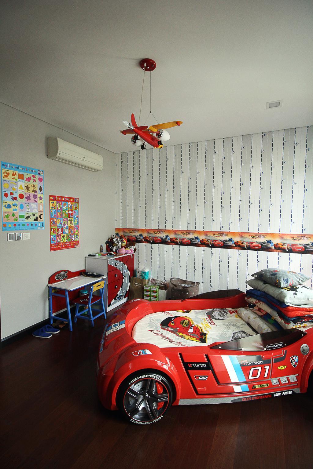 Contemporary, Landed, Forte, Bukit Jelutong, Interior Designer, EA Alam Reka, Eclectic, Minimalistic, Animal, Fish, Sea Life, Tuna, Home Decor, Quilt, Bedroom, Indoors, Interior Design, Room