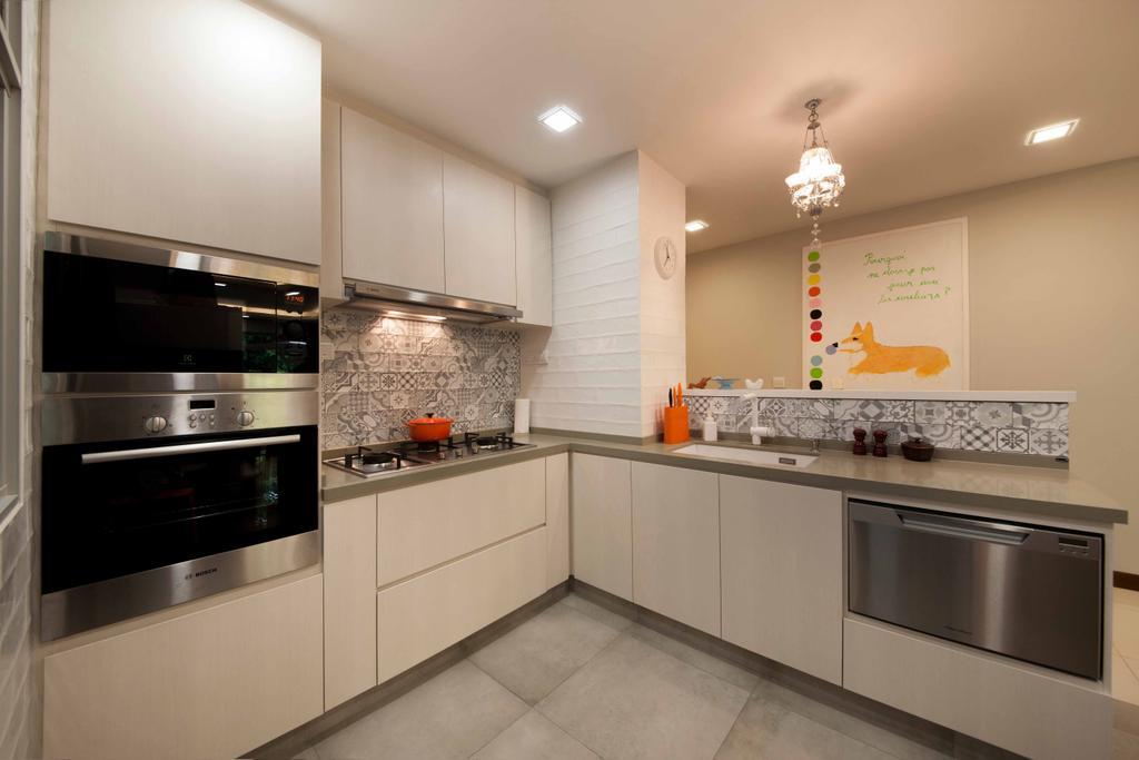Scandinavian, Condo, The Raintree, Interior Designer, Starry Homestead, Indoors, Interior Design, Kitchen, Room, Appliance, Electrical Device, Oven
