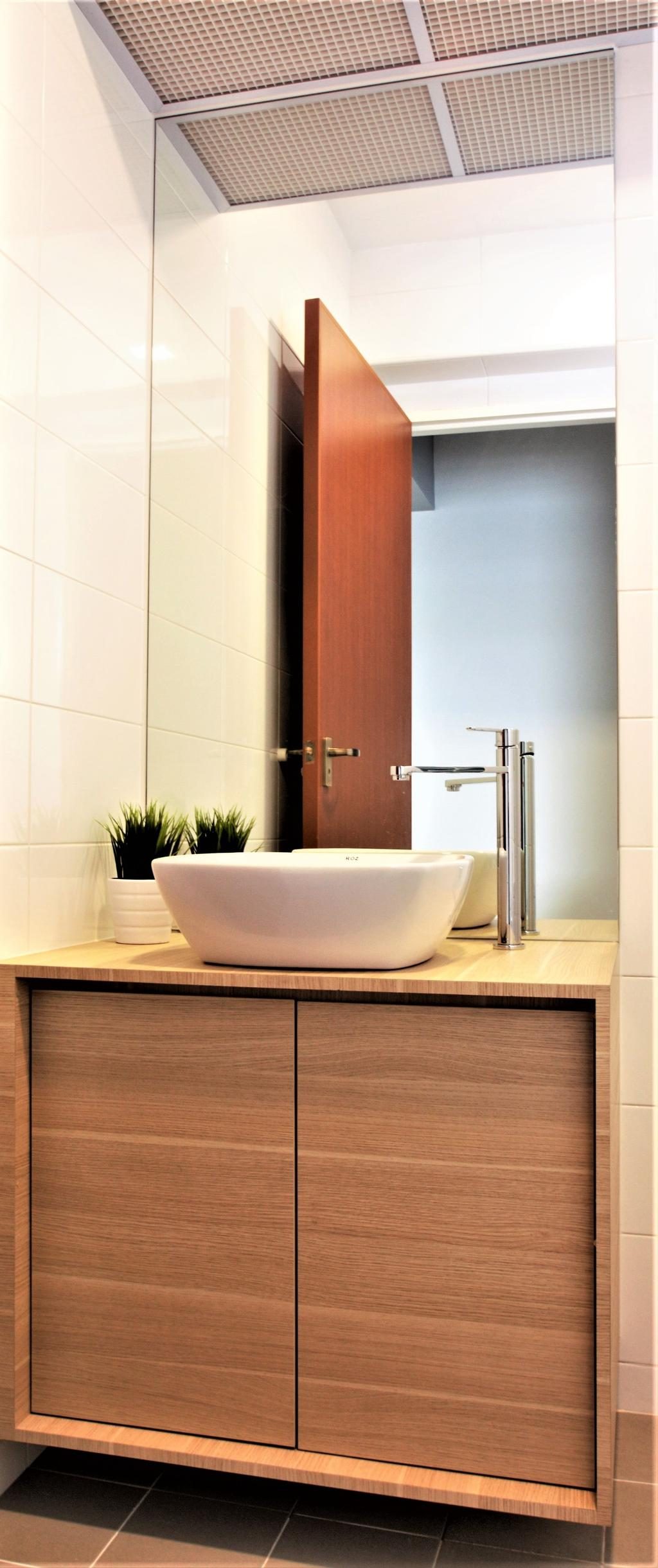 Modern, HDB, Choa Chu Kang, Interior Designer, Intrigue-d Design Consultancy, Flora, Jar, Plant, Potted Plant, Pottery, Vase, Indoors, Interior Design