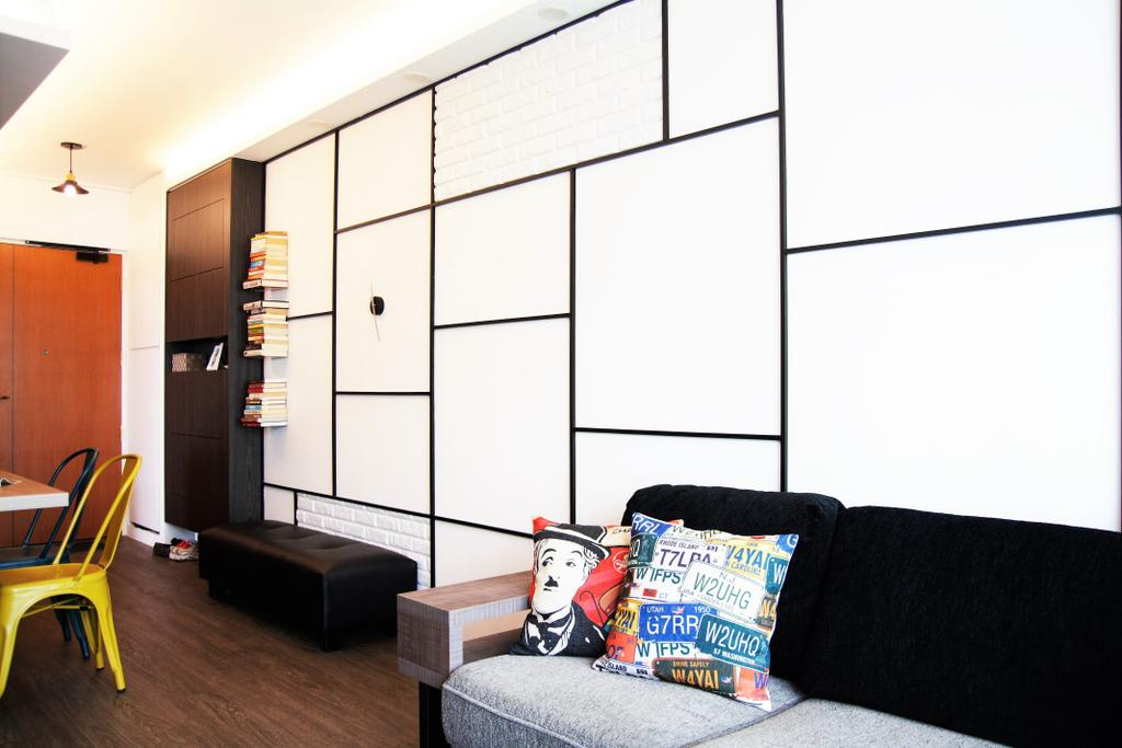 HDB, Punggol, Interior Designer, Intrigue-d Design Consultancy, Chair, Furniture