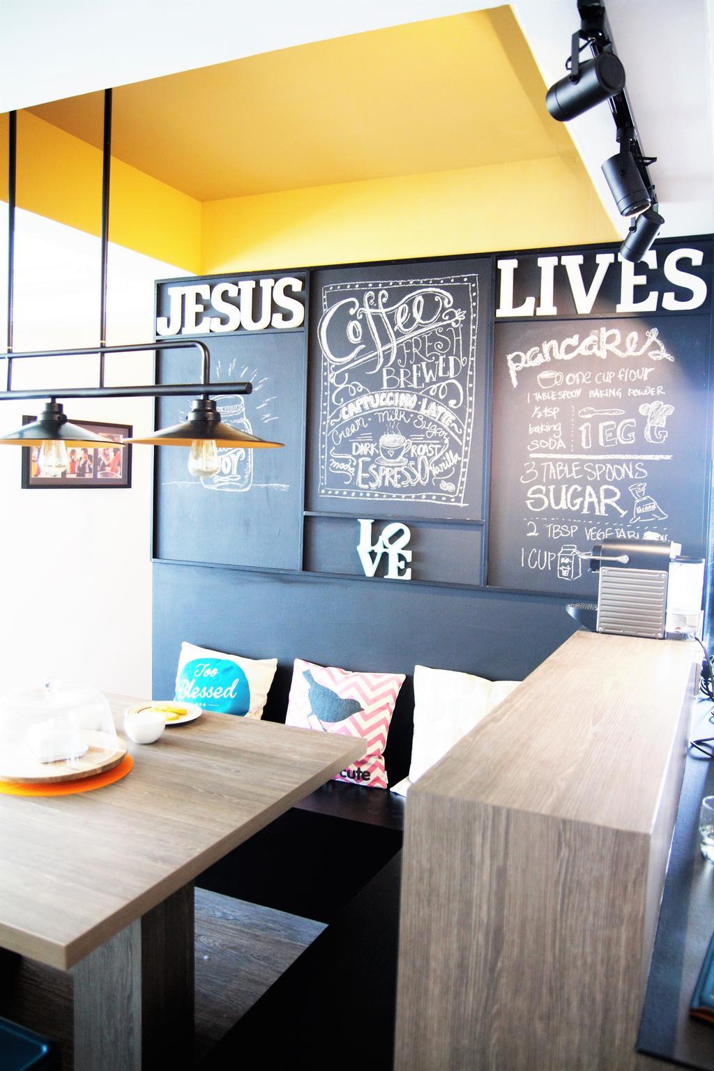 HDB, Punggol, Interior Designer, Intrigue-d Design Consultancy, Cafe, Restaurant