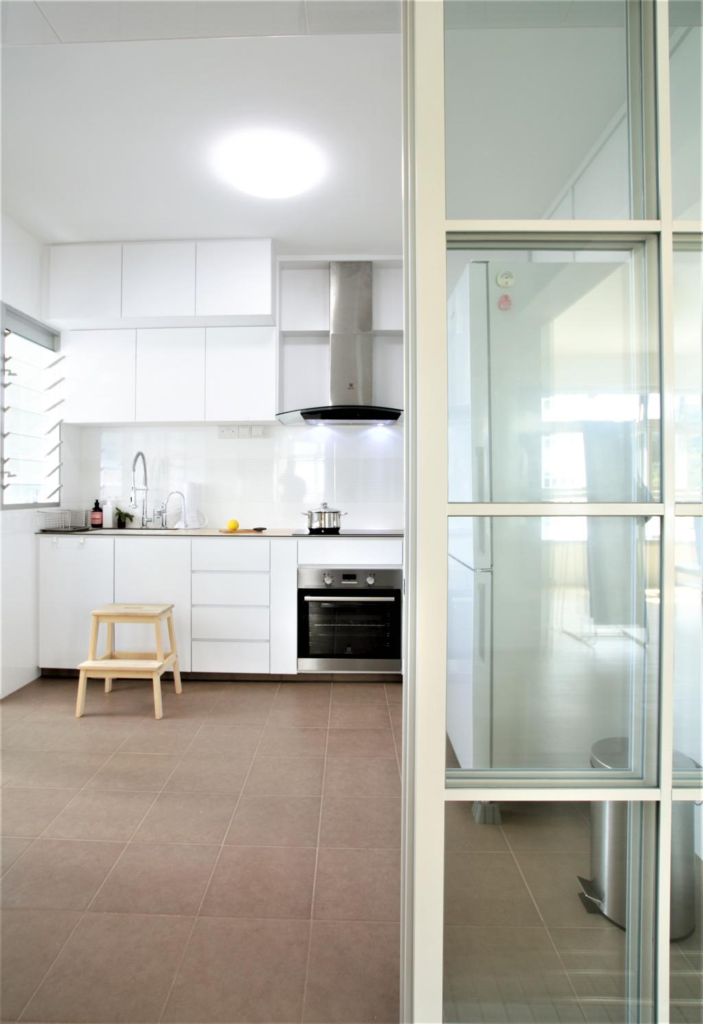 HDB, Telok Blangah, Interior Designer, Intrigue-d Design Consultancy, Indoors, Interior Design, Kitchen, Room, Appliance, Electrical Device, Oven