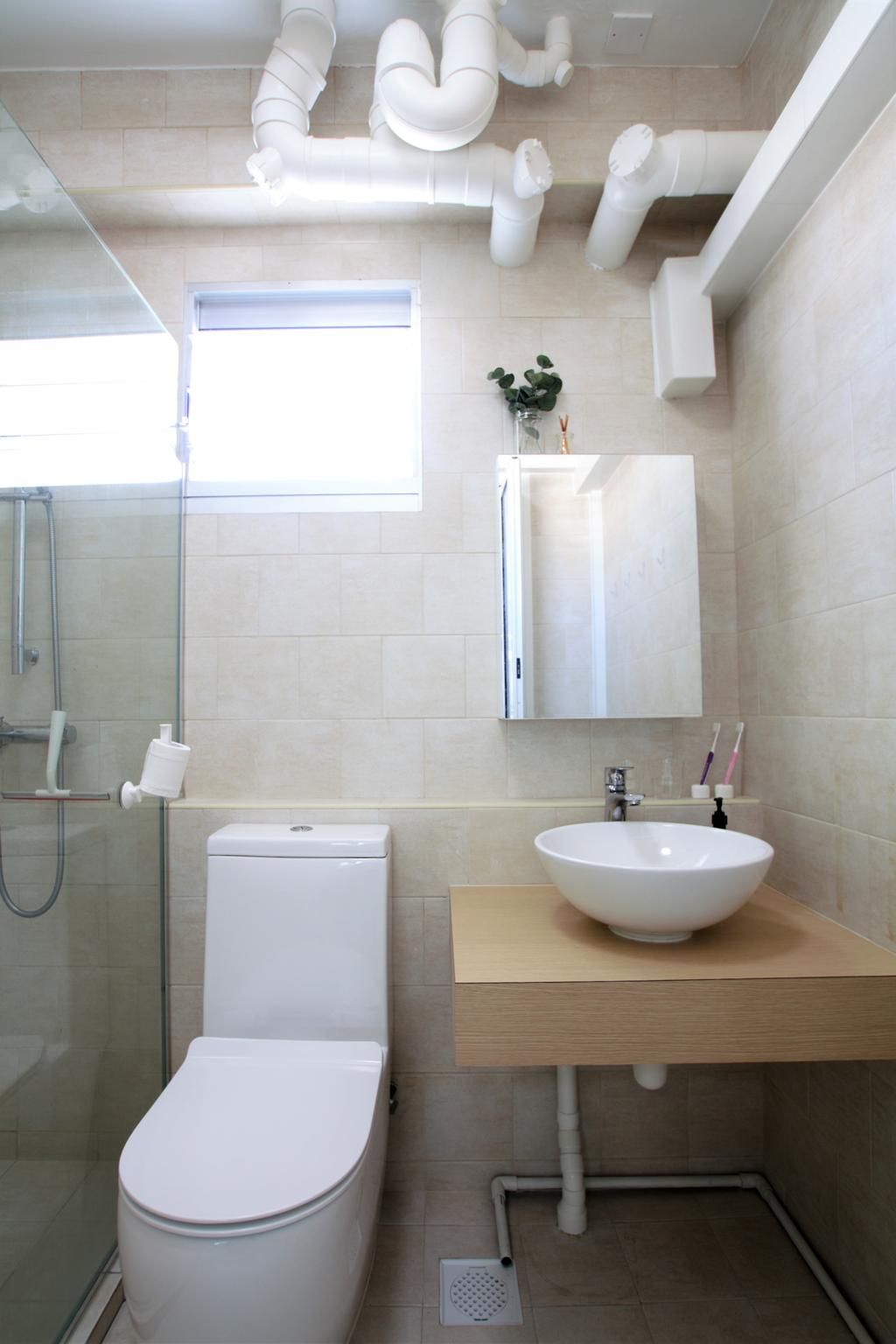 HDB, Telok Blangah, Interior Designer, Intrigue-d Design Consultancy, Appliance, Electrical Device, Washer, Bathroom, Indoors, Interior Design, Room