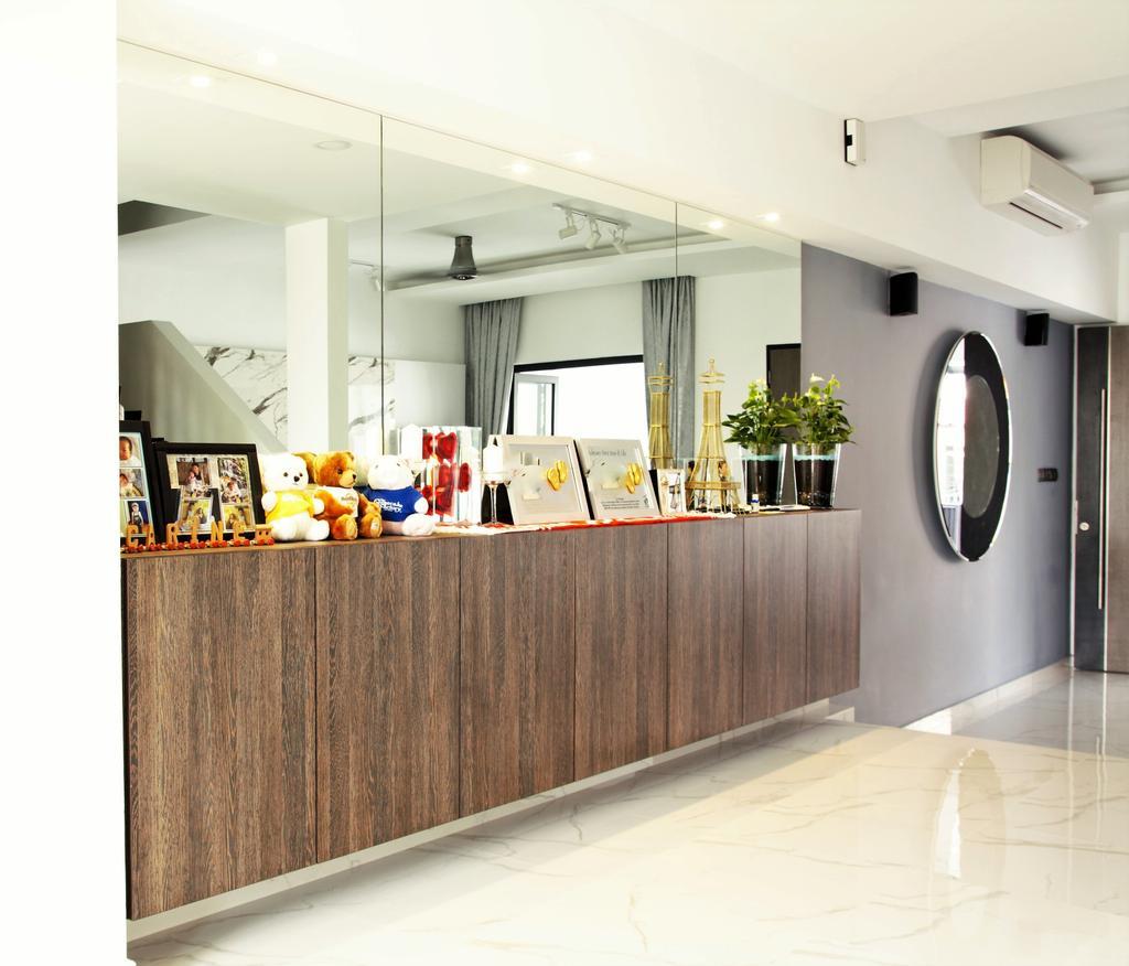 Landed, Bedok, Interior Designer, Intrigue-d Design Consultancy, Flora, Jar, Plant, Potted Plant, Pottery, Vase
