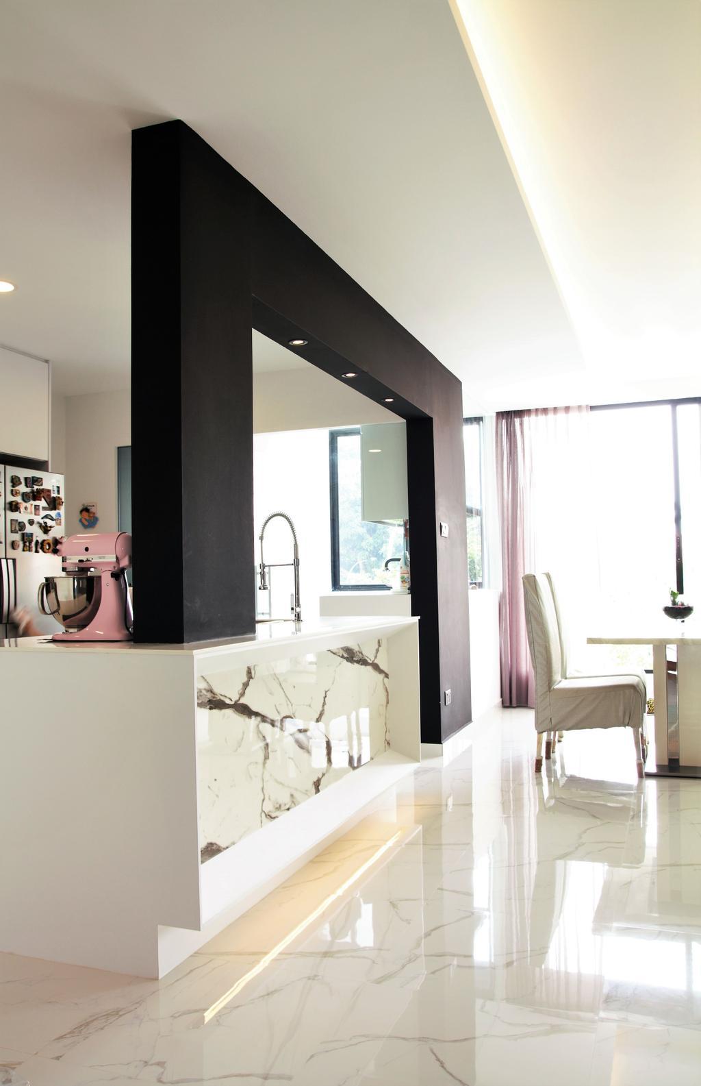 Landed, Bedok, Interior Designer, Intrigue-d Design Consultancy, Bathroom, Indoors, Interior Design, Room, Mixer