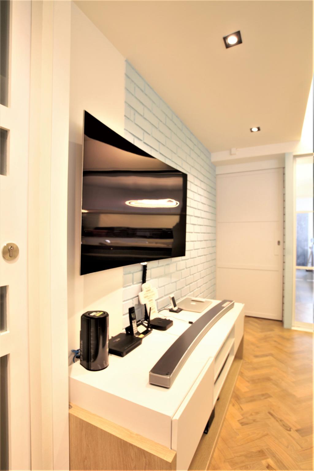 HDB, Marine Drive, Interior Designer, Intrigue-d Design Consultancy, Sink, Indoors, Interior Design