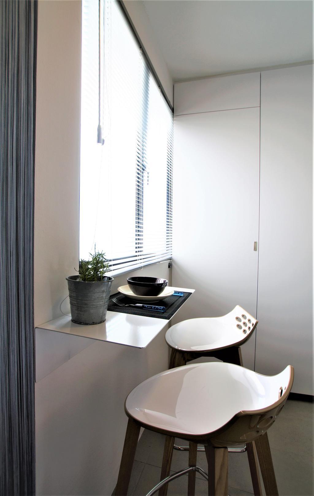 HDB, Marine Drive, Interior Designer, Intrigue-d Design Consultancy, Flora, Jar, Plant, Potted Plant, Pottery, Vase