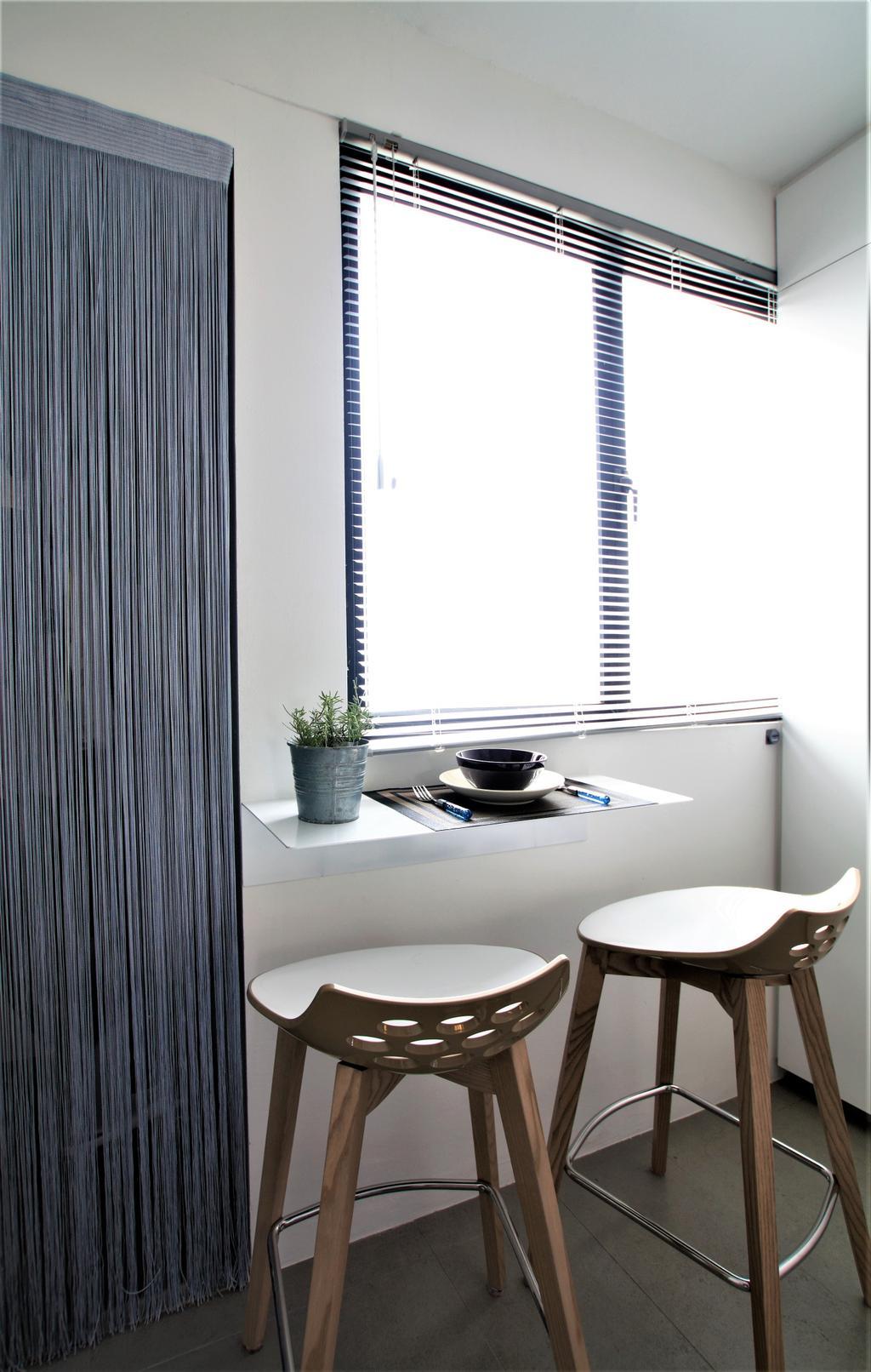 HDB, Marine Drive, Interior Designer, Intrigue-d Design Consultancy, Chair, Furniture, Flora, Jar, Plant, Planter, Potted Plant, Pottery, Vase, Pot