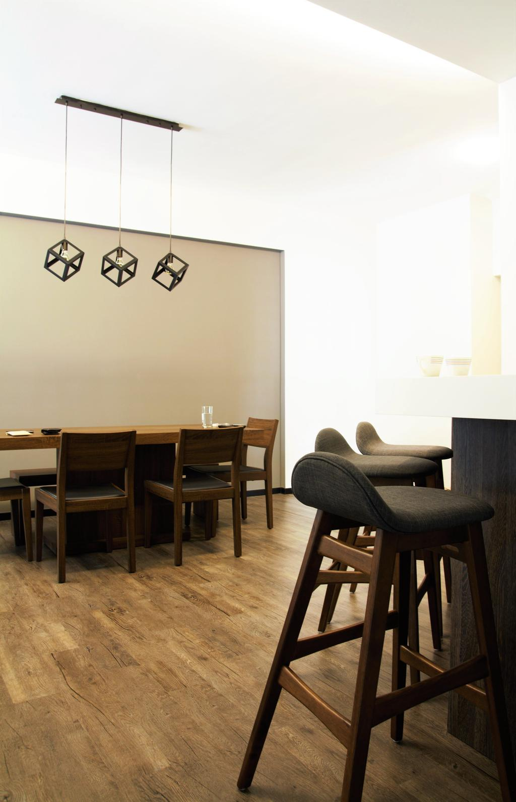 HDB, Tampines, Interior Designer, Intrigue-d Design Consultancy, Chair, Furniture, Dining Table, Table