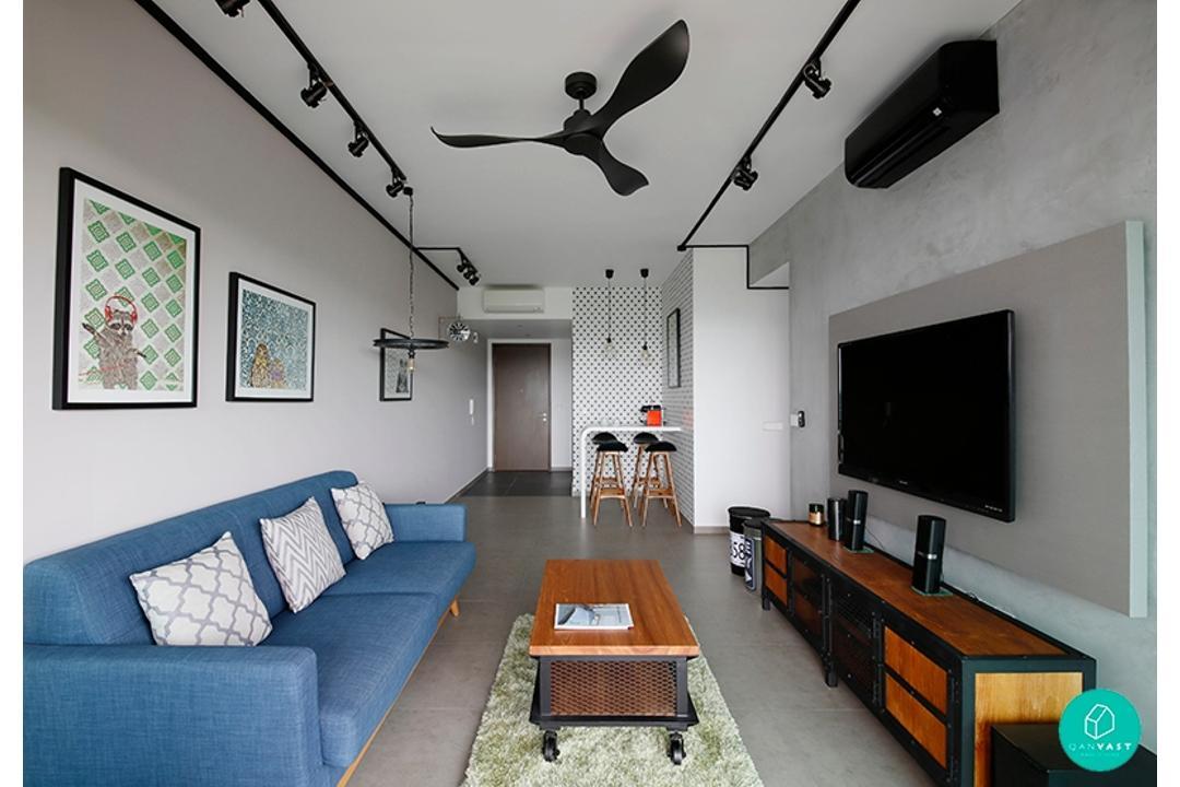 FSI-Minton-Industrial-Living-Room-Hallway