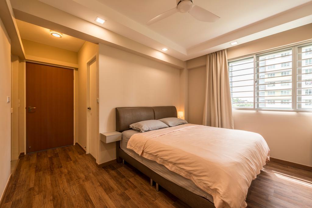 HDB, Bedroom, Sengkang West Way (Block 452A), Interior Designer, Colourbox Interior, Indoors, Interior Design, Room