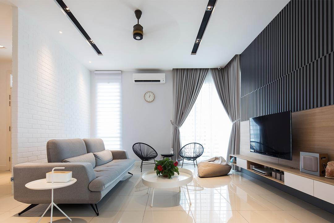 Villa Heights, Equine Park Living Room Interior Design 5