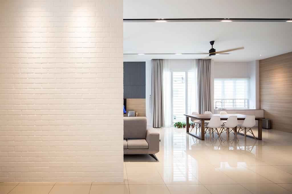 Scandinavian, Condo, Dining Room, Villa Heights, Equine Park, Interior Designer, Box Design Studio Sdn Bhd
