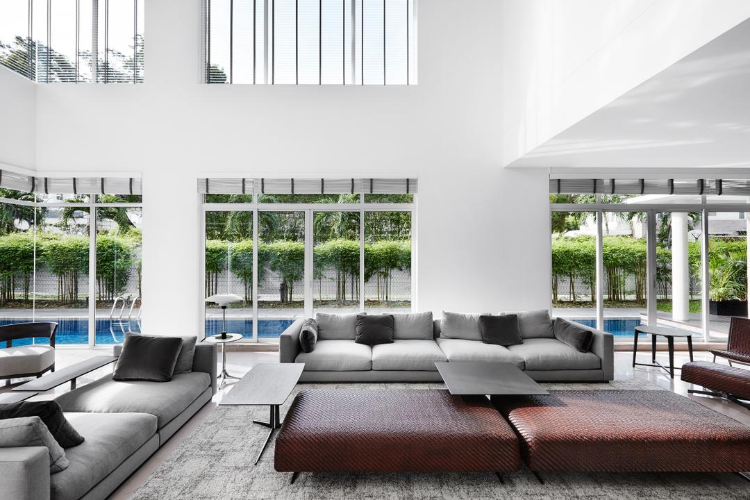Cable Road, Third Avenue Studio, Contemporary, Living Room, Landed, High Ceiling, Big Space, Big, Pool, Swimming Pool, Indoors, Room, Furniture, Studio Couch