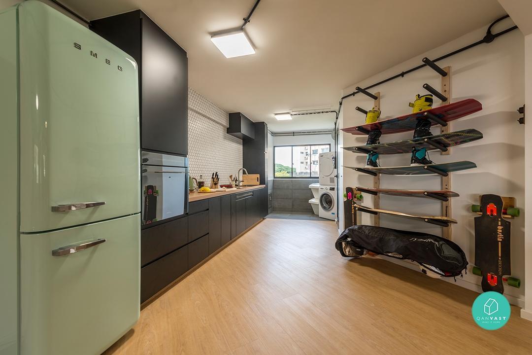 Interior Designer: Lux Design Location: Serangoon Avenue 4. Cost Of  Renovation: $49,000