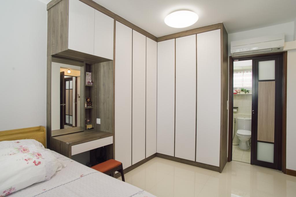 Modern, HDB, Bedroom, Telok Blangah Heights (Block 70B), Interior Designer, Urban Habitat Design, Contemporary, Bed, Furniture
