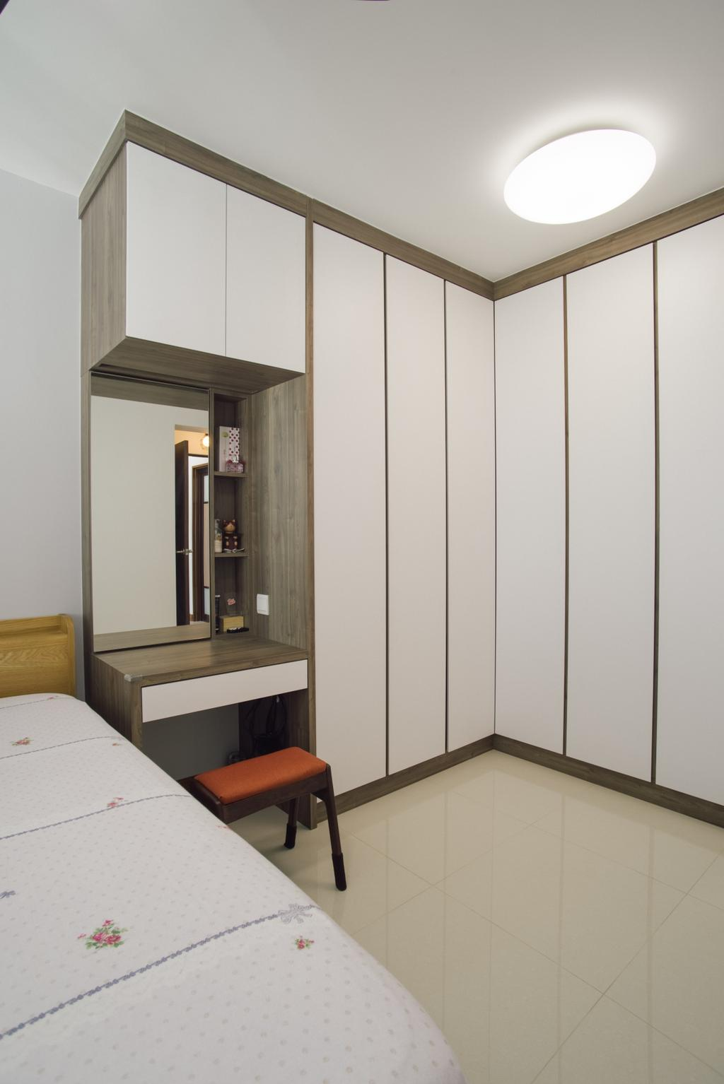 Modern, HDB, Bedroom, Telok Blangah Heights (Block 70B), Interior Designer, Urban Habitat Design, Contemporary