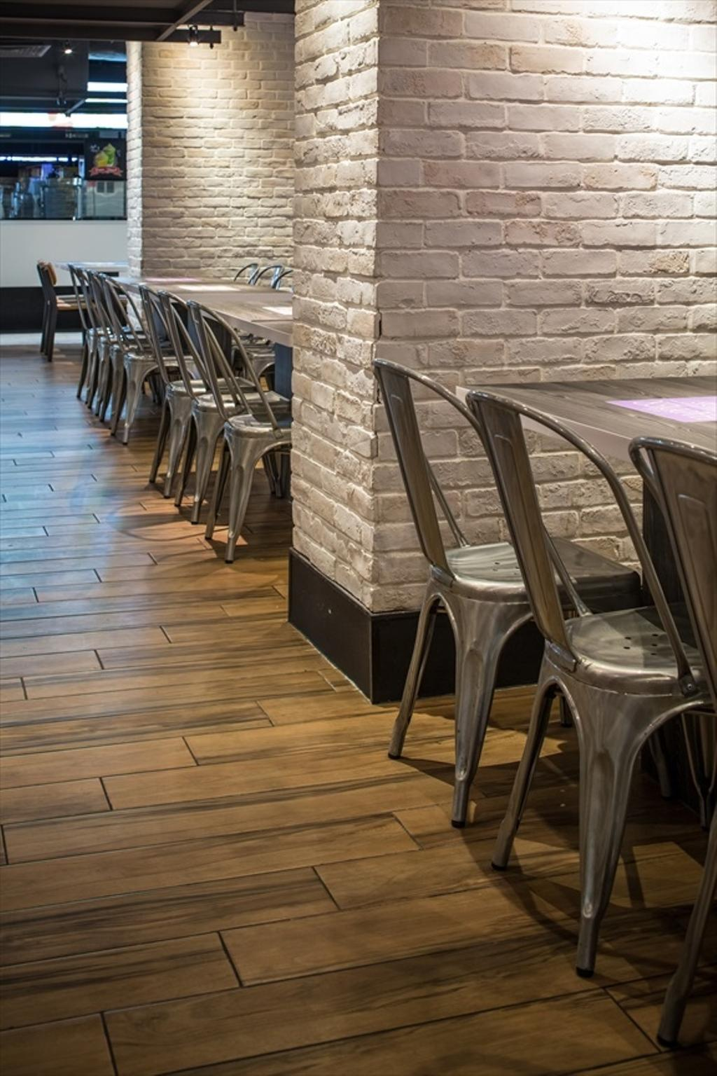 Foodfare Clifford Centre, Commercial, Architect, Wallflower Architecture + Design, Industrial, Chair, Furniture, Dining Table, Table