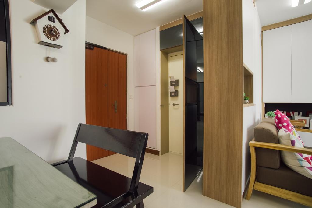 Modern, HDB, Dining Room, Telok Blangah Heights (Block 70B), Interior Designer, Urban Habitat Design, Contemporary, Chair, Furniture