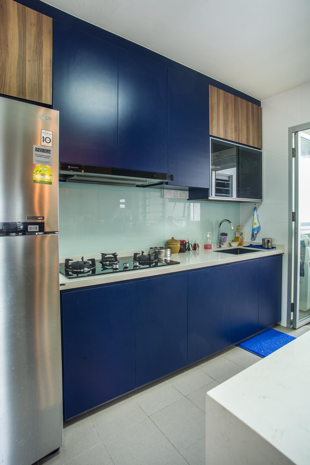 Eclectic, HDB, Kitchen, Boon Lay Avenue (Block 218D), Interior Designer, Urban Habitat Design