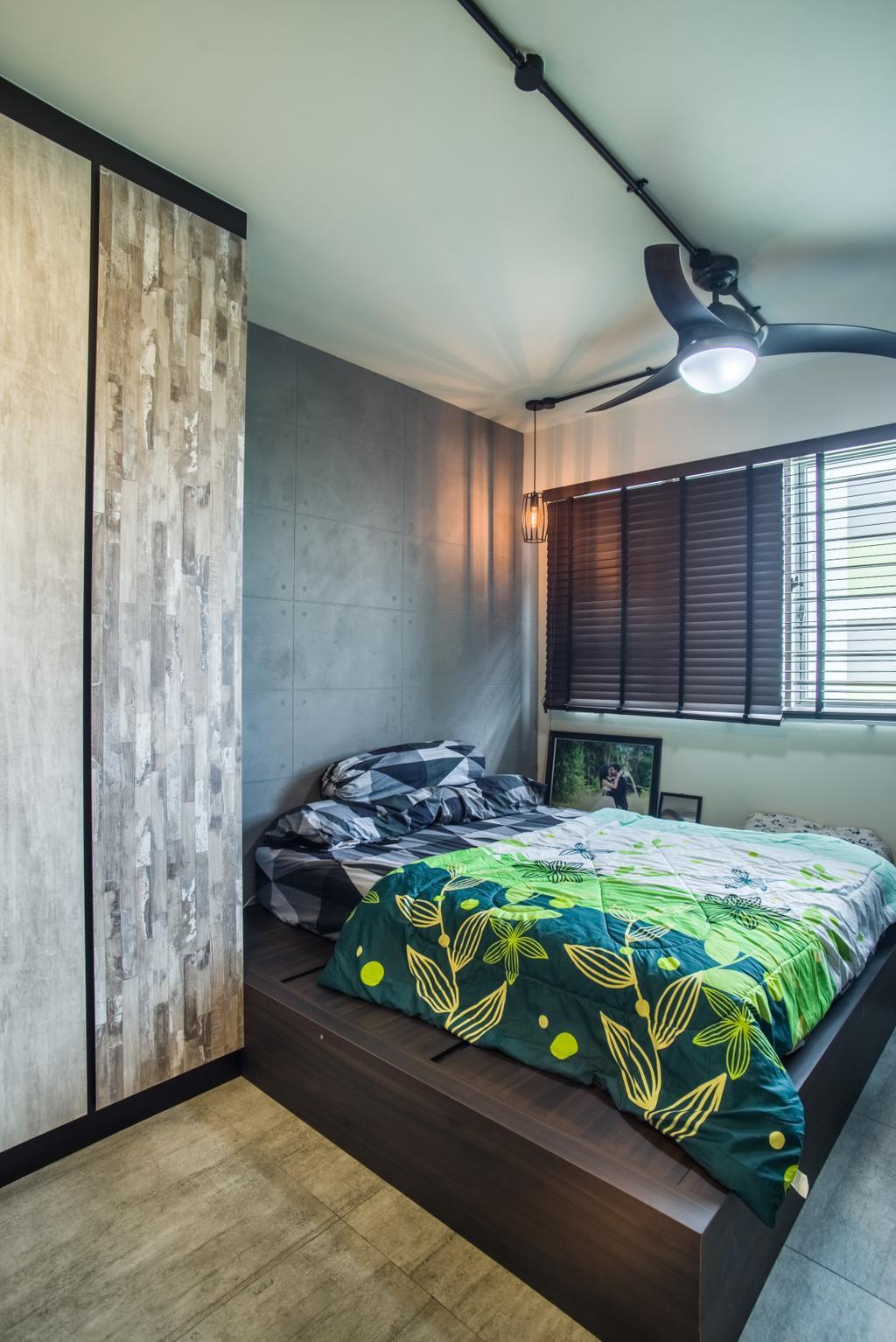 Eclectic, HDB, Bedroom, Boon Lay Avenue (Block 218D), Interior Designer, Urban Habitat Design