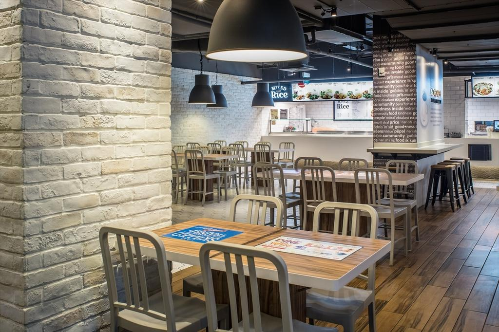 Foodfare Clifford Centre, Commercial, Architect, Wallflower Architecture + Design, Industrial, Dining Table, Furniture, Table, Cafe, Restaurant