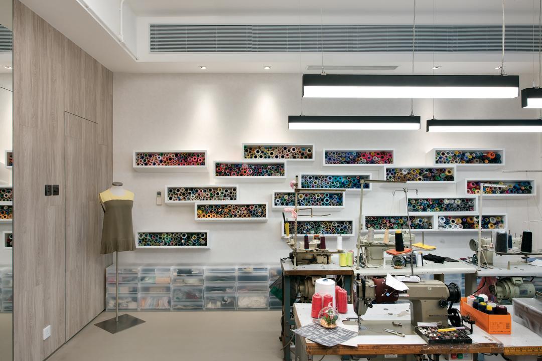 Kwai Chung Road, 畫斯室內設計, 摩登, 復古, 工業, 私家樓, Lathe, Machine