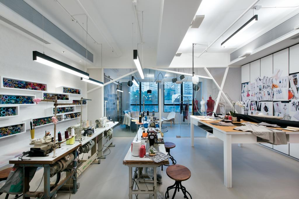 摩登, 私家樓, Kwai Chung Road, 室內設計師, 畫斯室內設計, 復古, 工業, Shoe Shop, Shop, Dining Table, Furniture, Table, Chair, Lab