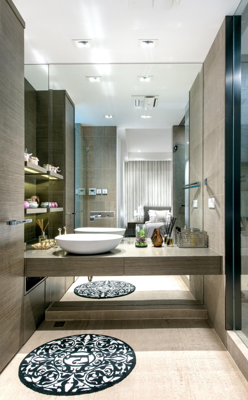 摩登, 獨立屋, 浴室, Casa Marina, 室內設計師, 畫斯室內設計, Indoors, Interior Design, Room