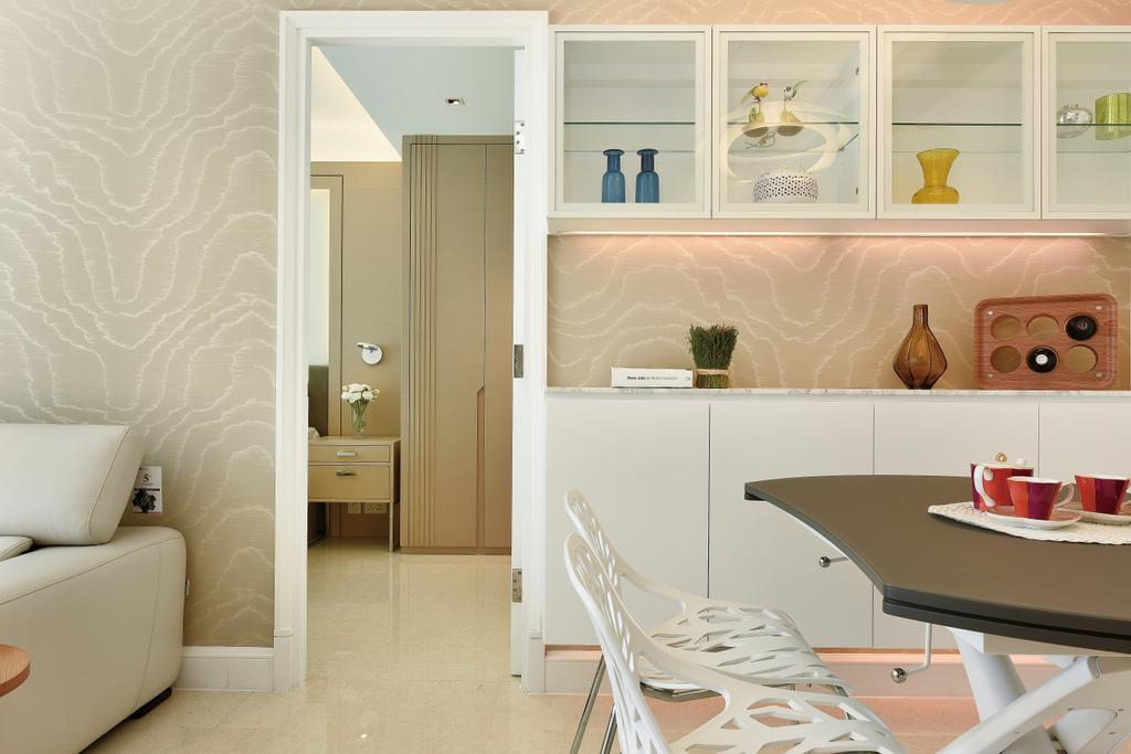 摩登, 私家樓, 客廳, Festival City, 室內設計師, 畫斯室內設計, Cup, Indoors, Nursery, Room