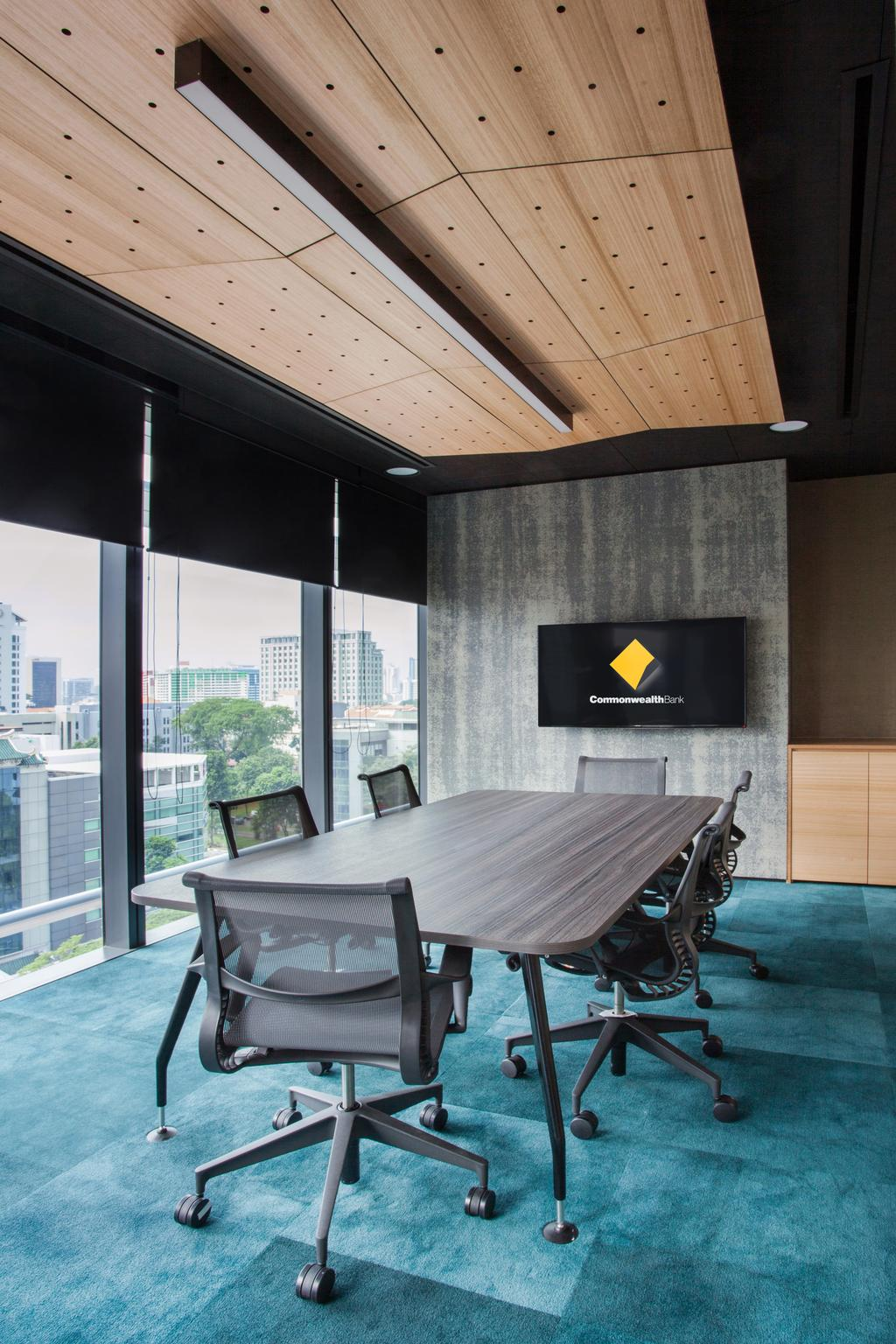 Commonwealth Bank of Australia, Commercial, Architect, designphase dba, Contemporary, Toilet, Chair, Furniture, Dining Table, Table