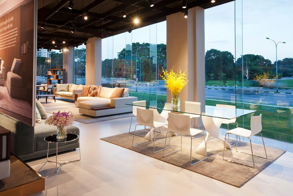 King Living Singapore, Commercial, Architect, designphase dba, Modern, Chair, Furniture, Couch