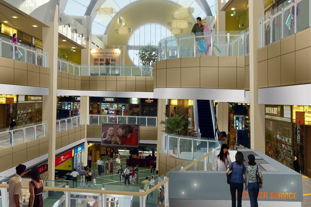Novena Square Shopping Centre, designphase dba, Modern, Commercial, Human, People, Person, Food, Food Court, Restaurant, Shop