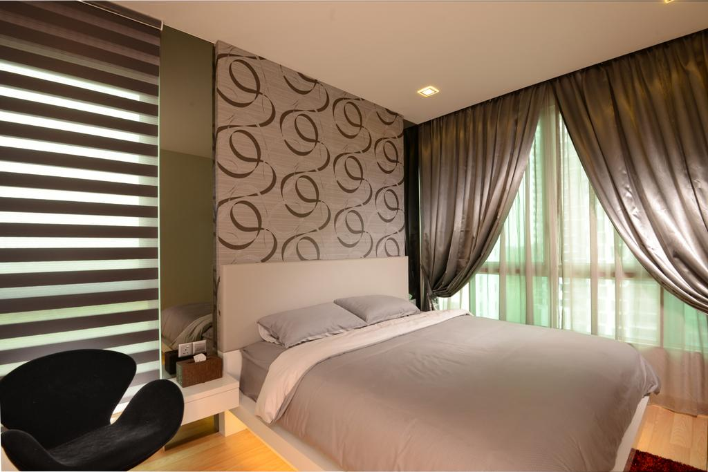 Condo, Bedroom, Tree House, Interior Designer, 96 Designers Group